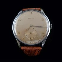 Zenith Steel 37.5mm Manual winding pre-owned United States of America, Connecticut, Greenwich
