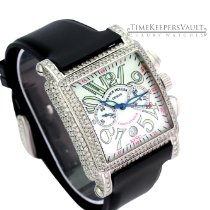 Franck Muller pre-owned Automatic 41mm Black Sapphire Glass 3 ATM
