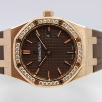 Audemars Piguet Royal Oak Lady Roségoud 33mm Bruin Nederland, Rijnsburg