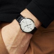Girard Perregaux 1966 Or blanc 38mm Argent