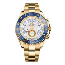 Rolex Yacht-Master II Yellow gold 44mm White