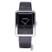 Chanel Boy-Friend Acier 37mm Noir