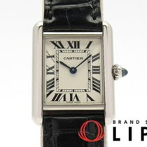 Cartier Tank Louis Cartier Or blanc 30mm Argent