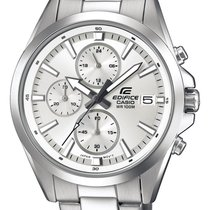 Casio Zeljezo Kvarc Srebro 44mm nov Edifice