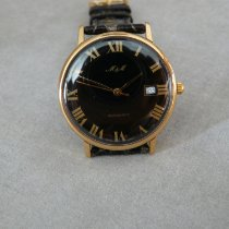 M&M Swiss Watch Stål 37mm Automatisk 10.510 ny