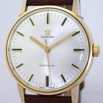 Omega Genève Stahl 35mm Silber Keine Ziffern Deutschland, Augsburg