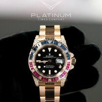Rolex GMT-Master II Rose gold 40mm Black No numerals United States of America, Texas, Laredo