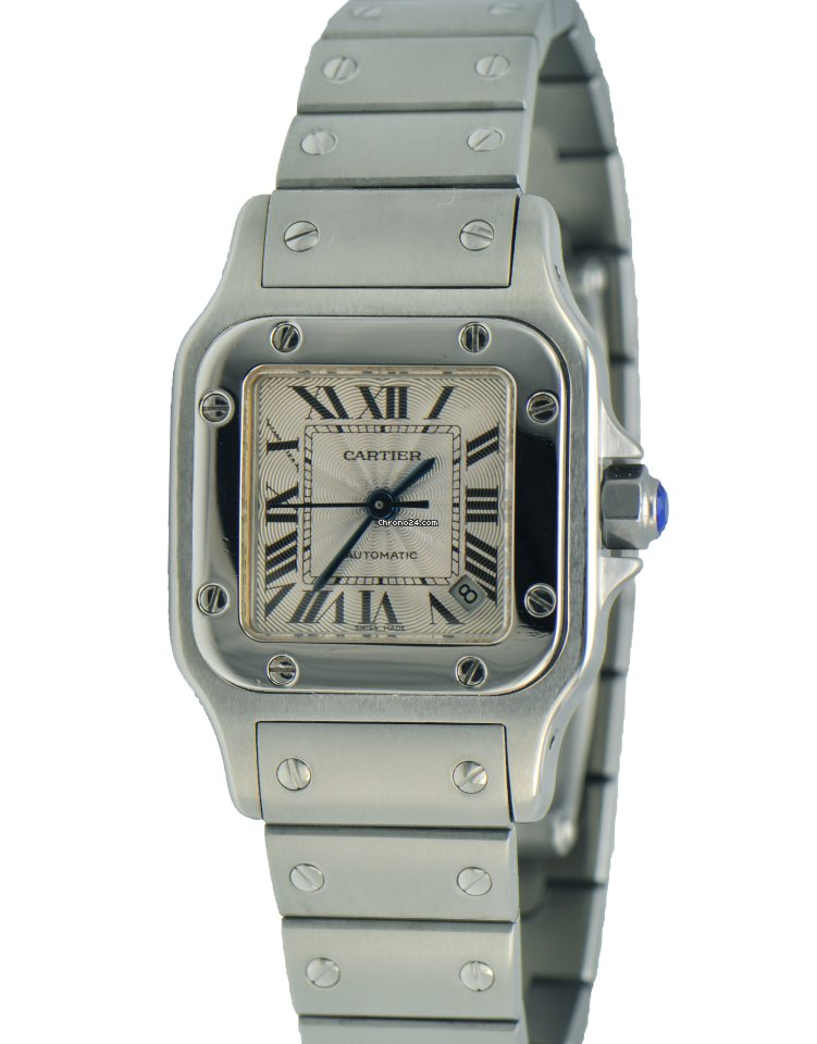 bf228857b91b Cartier Santos Galbee Stainless Steel 2423 Ladies New Style for ...