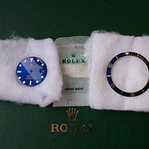 Rolex SUBMARINER Zifferblatt u Inlay 16613 16618 + NOS