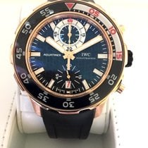IWC IW376903 Rose gold 2009 Aquatimer Chronograph pre-owned