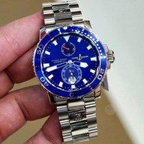 雅典 (Ulysse Nardin) Maxi Marine Diver  Automatic White Gold Watch
