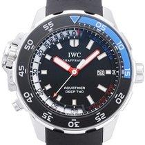 IWC Aquatimer Deep Two Acero Negro