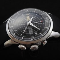 Vulcain Cricket Heritage Nautical Steel Alarm Watch