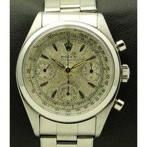 Rolex Chronograph Aço 36mm Prata