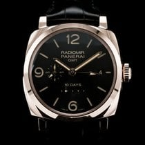 Panerai Rose gold Automatic Black Arabic numerals 45mm new Special Editions
