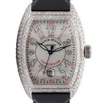 Franck Muller Conquistador Diamond Set White Dial 8005 HSC