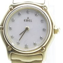 Ebel pre-owned Quartz 23mm Mother of pearl Sapphire crystal