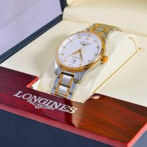 Longines Master Collection L2.628.5.77.7 Longines MASTER Oro Argento Diamanti 38,5mm новые