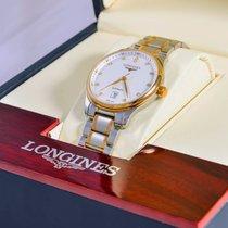 Longines Master Collection L2.628.5.77.7 Longines MASTER Oro Argento Diamanti 38,5mm новые