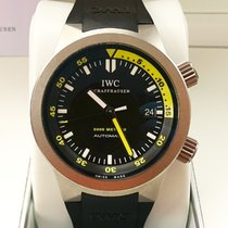 IWC Aquatimer Automatic 2000 Титан 42mm Чёрный Aрабские