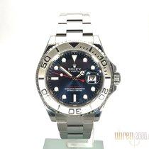 Rolex Yacht-Master 40 Edelstahl / Platin Ref. 116622 Blau LC100