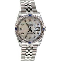 Rolex Datejust Men's Perfect Condition Heavy Jubilee Band/Hidd...