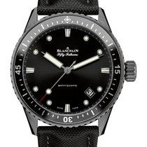Blancpain Fifty Fathoms Bathyscaphe 5000-0130-B52A 2019 новые