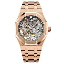 Audemars Piguet 15467OR.OO.1256OR.01 Roségold 2019 Royal Oak Double Balance Wheel Openworked 37mm neu