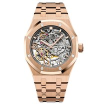 Audemars Piguet 15467OR.OO.1256OR.01 Rose gold Royal Oak Double Balance Wheel Openworked 37mm