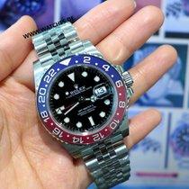 "Rolex GMT-Master II ""PEPSI"" Steel - 126710BLRO"
