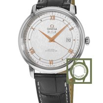 Omega De Ville Prestige Co-Axial 39.5 mm Leather Strap