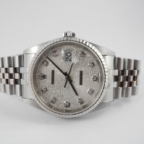 Rolex Datejust Original Diamonds Dial box and papers