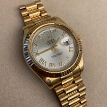 Rolex Day-Date II Oro amarillo 41mm Romanos