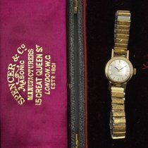 Omega De Ville Ladymatic Yellow gold 17mm Gold No numerals United Kingdom, Hunstanton