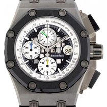 Audemars Piguet Royal Oak Offshore Chronograph 26078IO.OO.D001VS.01 Sehr gut Titan 44mm Automatik