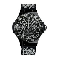 Hublot Big Bang Broderie Kerámia 41mm Fekete