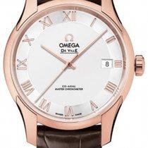 Omega 433.53.41.21.02.001 Oro rosa 2020 De Ville Hour Vision 41mm nuevo