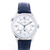 Jaeger-LeCoultre Master Geographic Acero 39mm Plata