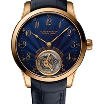 Ulysse Nardin Classic Ulysse Anchor Tourbillon Rose gold Blue United States of America, Florida, North Miami Beach