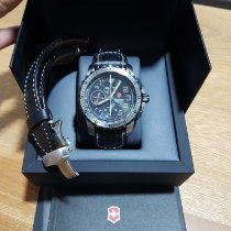 Victorinox Swiss Army Alpnach Stal 43mm Szary Arabskie