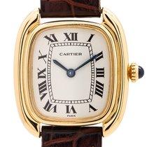 Cartier Gelbgold 24mm Handaufzug gebraucht