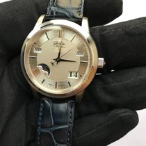 Glashütte Original Senator Perpetual Calendar new Automatic Watch with original box and original papers 39-50-04-03-04