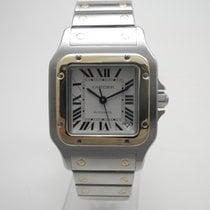 Cartier Santos Galbée Gold/Stahl 32mm Silber Römisch Deutschland, Essen