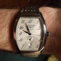 Longines Evidenza Steel White Arabic numerals United States of America, Alabama, nj