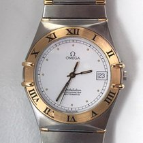 Omega Constellation Gold/Steel 33mm Arabic numerals