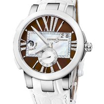 Ulysse Nardin Executive Dual Time Lady 243-10/30-05 new