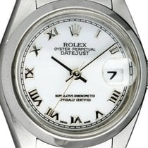 Rolex Oyster Perpetual Lady Date Steel 26mm White Roman numerals