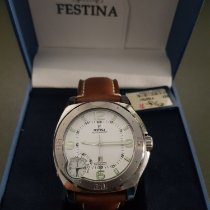 Festina new Automatic Display back Luminous numerals Luminous hands 46.5mm Steel