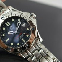 Omega 2562.80 Steel 2002 Seamaster 36mm pre-owned