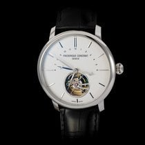 Frederique Constant Steel Automatic White Arabic numerals 43mm new Manufacture Tourbillon
